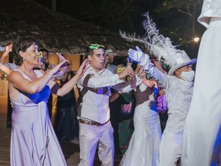 The wedding of Constanza and Jose 2