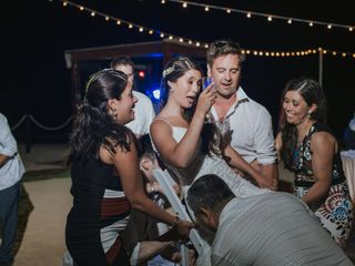 The wedding of Constanza and Jose 3