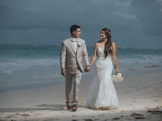 The wedding of Constanza and Jose