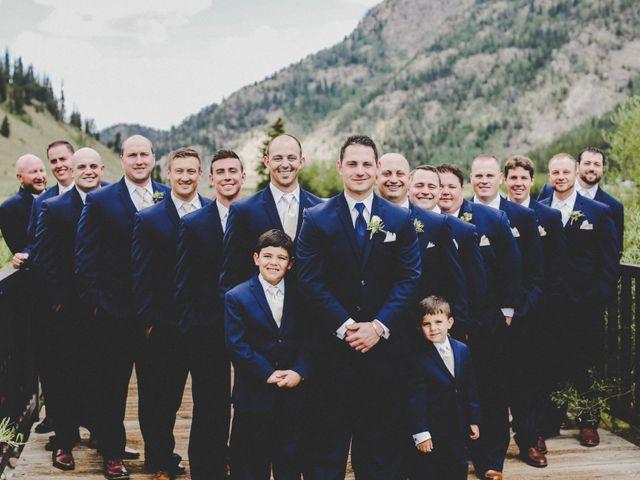 Cameron and Matt's Wedding in Frisco, Colorado 7