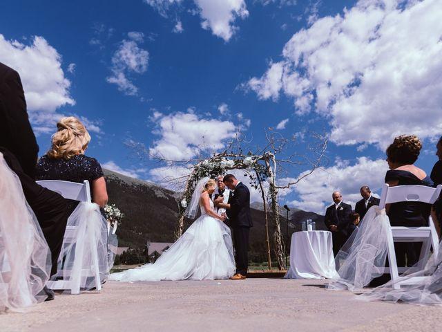 Cameron and Matt's Wedding in Frisco, Colorado 16