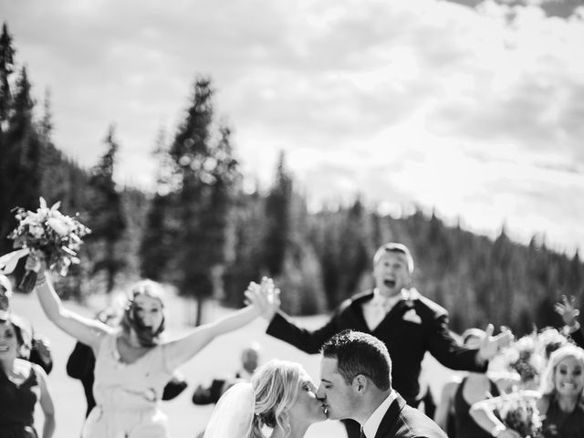Cameron and Matt's Wedding in Frisco, Colorado 18