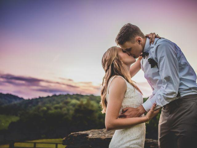 The wedding of Matthew and Kaylee