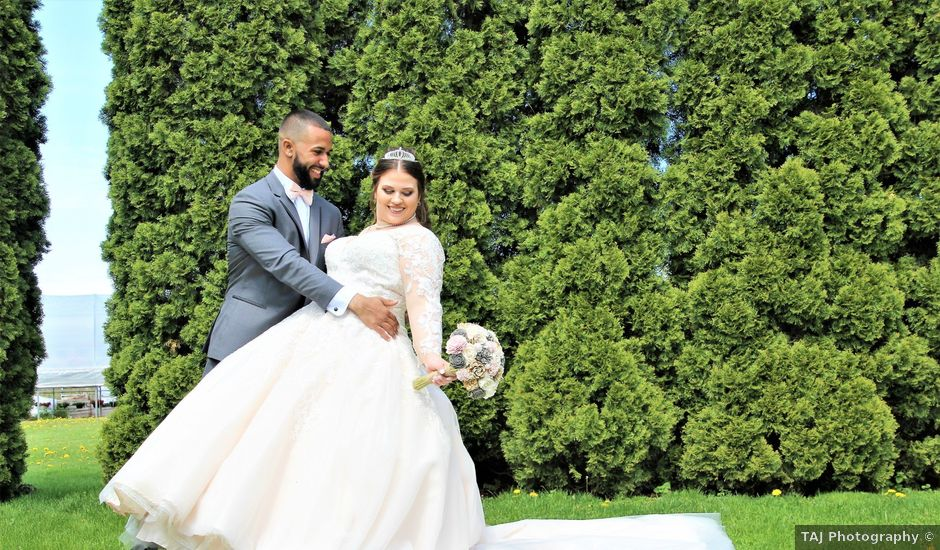 JaVonte and Autumn's Wedding in North Greece, New York