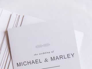 The wedding of Michael and Marley 2