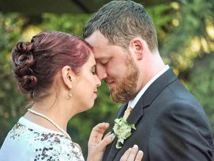The wedding of Rebecca and Zack