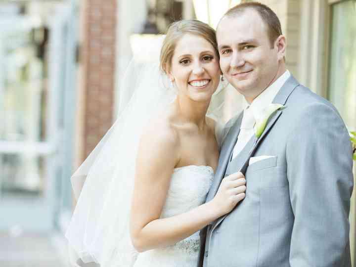 The wedding of Nick and Rachel