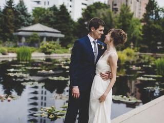 The wedding of Dan and Lauren