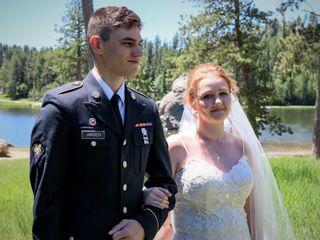 The wedding of Nicholas and Sarena
