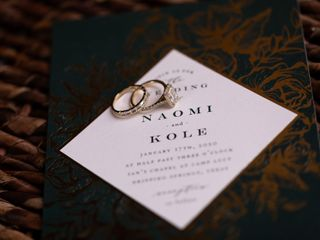 The wedding of Naomi and Kole 1