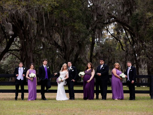 Tyler and Lacie's Wedding in Alachua, Florida 7