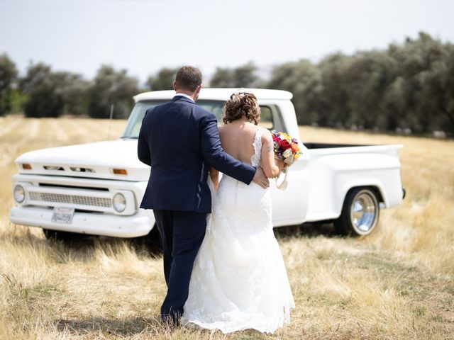 MaryKate and David's Wedding in Exeter, California 8