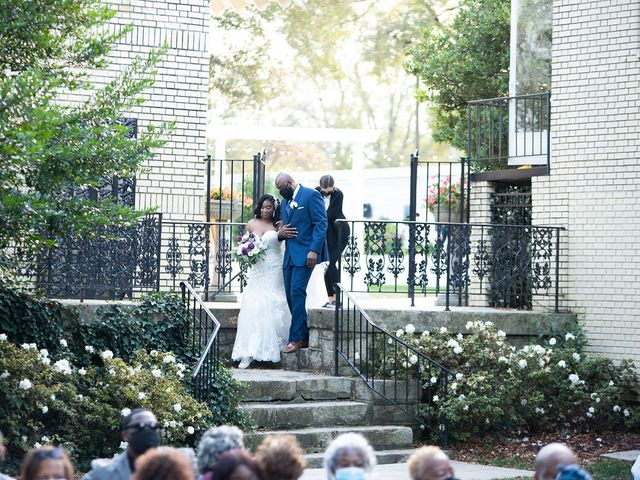 Bradley and Whitney's Wedding in Gastonia, North Carolina 5