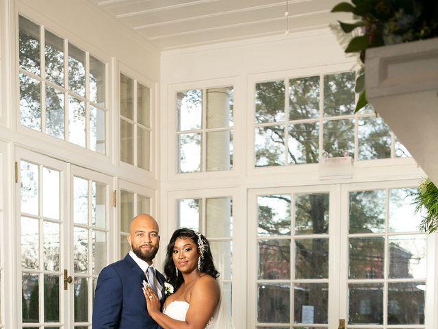 Bradley and Whitney's Wedding in Gastonia, North Carolina 8