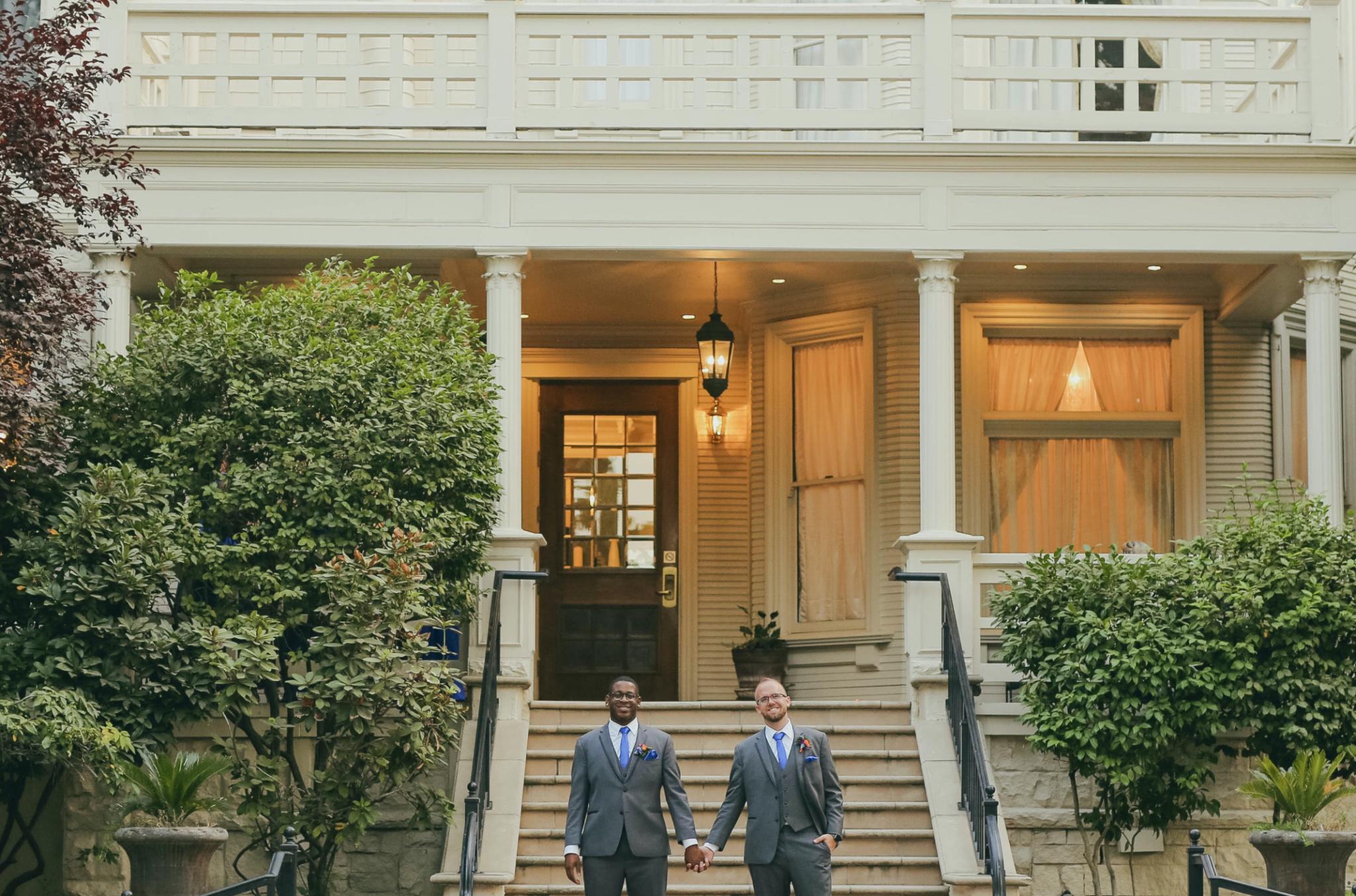 Zurich and Matthew's Wedding in Sacramento, California