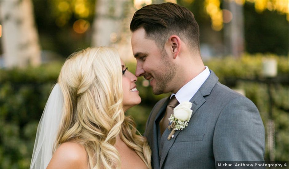 Amanda and Kyle's Wedding in Newhall, California