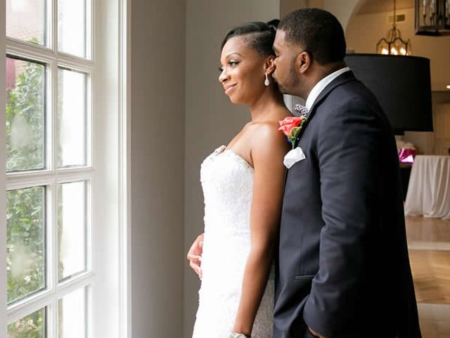 The wedding of Damion and LaRae