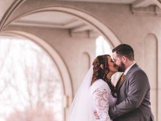 The wedding of Lori and Josh 1