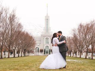 The wedding of Lori and Josh 2