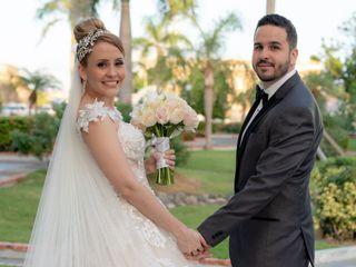 The wedding of Josué and Marie Gloria