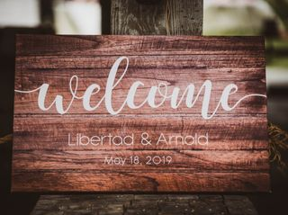 The wedding of Libertad and Arnold 1