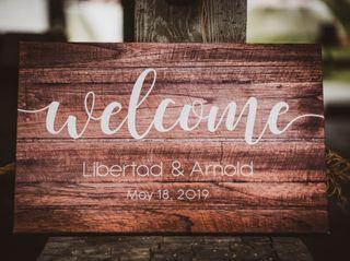 The wedding of Libertad and Arnold 1