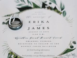 The wedding of Erika and James 2
