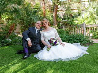 The wedding of Tammy and Scott