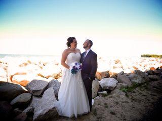 The wedding of Kelly and Jonathon