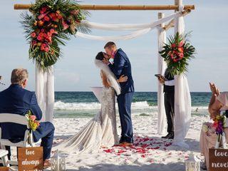 The wedding of Lauren and Brendon 1