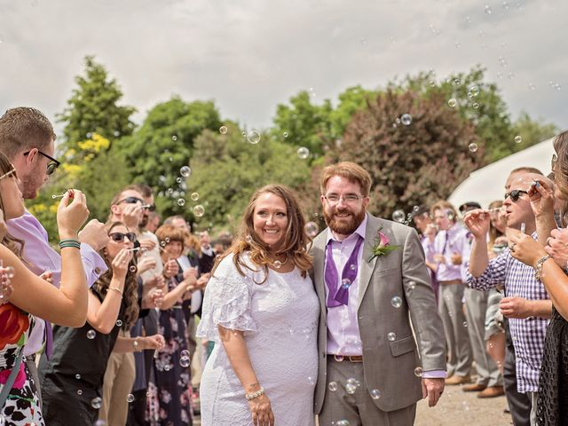 The wedding of Jenni and Ben