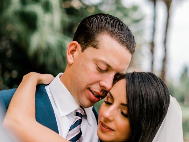 The wedding of Erika and James