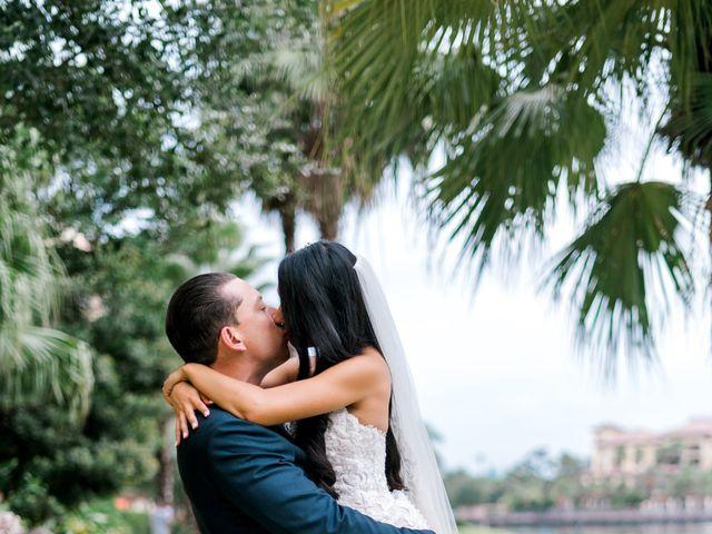 James and Erika's Wedding in Orlando, Florida 8