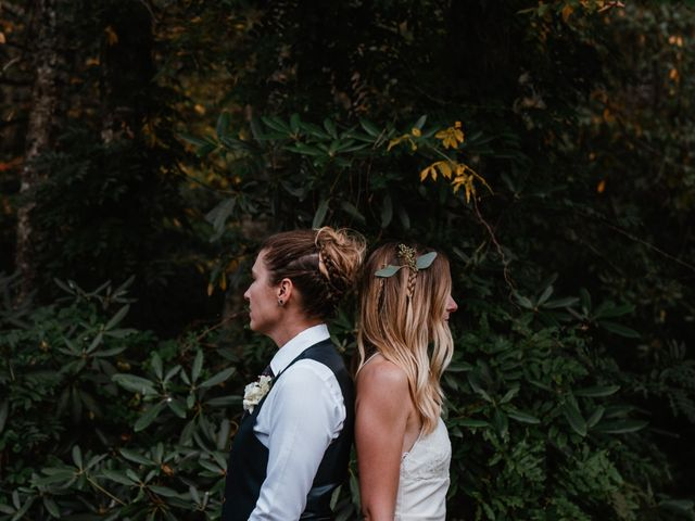 Aimee and Chelsey's Wedding in Blowing Rock, North Carolina 15