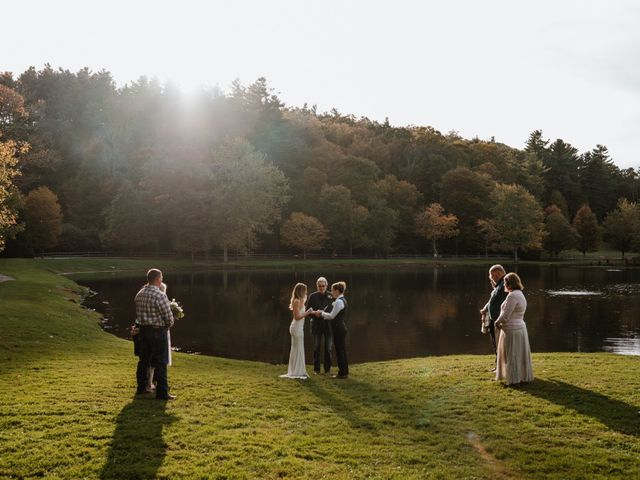 Aimee and Chelsey's Wedding in Blowing Rock, North Carolina 63