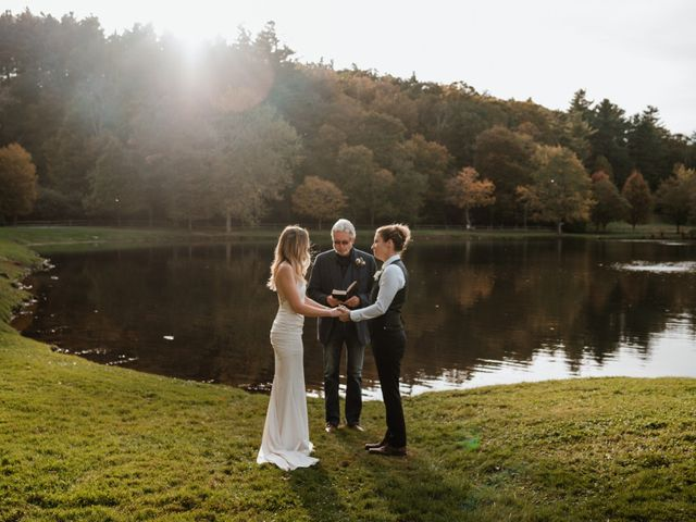 Aimee and Chelsey's Wedding in Blowing Rock, North Carolina 1