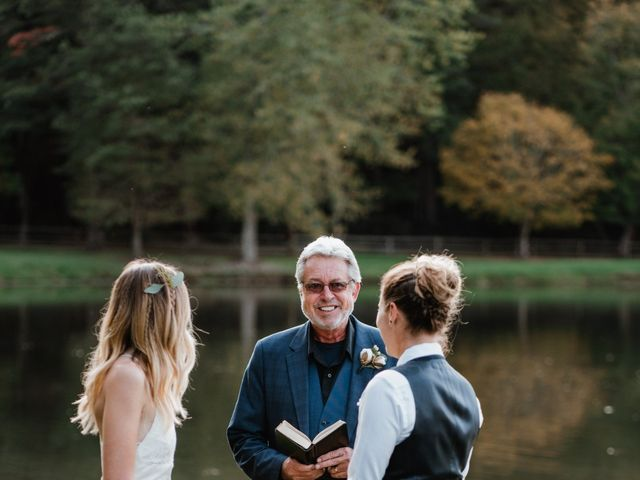 Aimee and Chelsey's Wedding in Blowing Rock, North Carolina 68