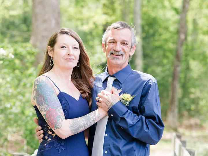 The wedding of Keith and Sarah