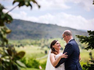 The wedding of Rachel and David