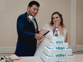 The wedding of Danielle and Luis 3