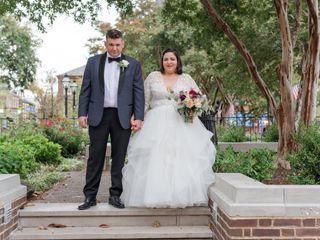 The wedding of Natasha and Kevin