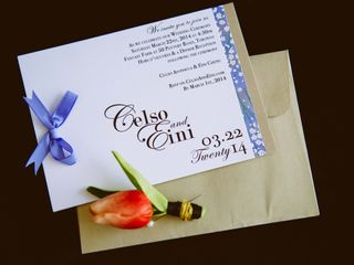 The wedding of Celso and Eini 2