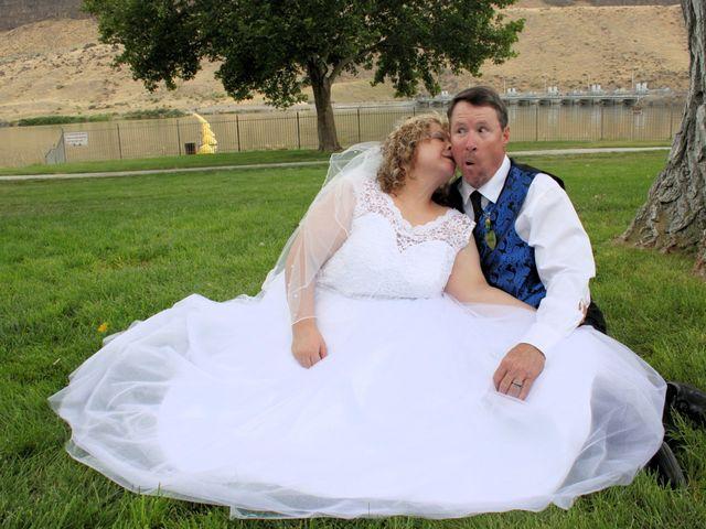 The wedding of Steve and Renee