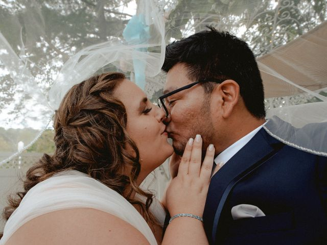 The wedding of Danielle and Luis