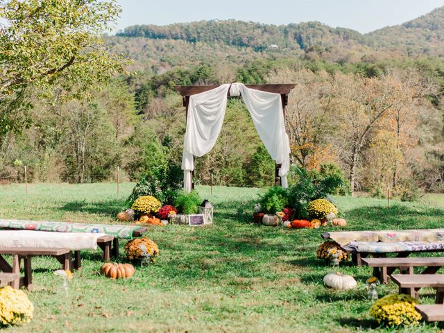 Sean and Skylar's Wedding in Tellico Plains, Tennessee 5