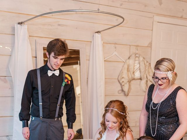 Sean and Skylar's Wedding in Tellico Plains, Tennessee 28