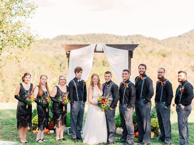 Sean and Skylar's Wedding in Tellico Plains, Tennessee 54
