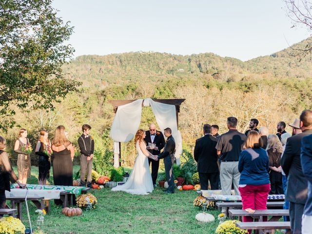 Sean and Skylar's Wedding in Tellico Plains, Tennessee 57