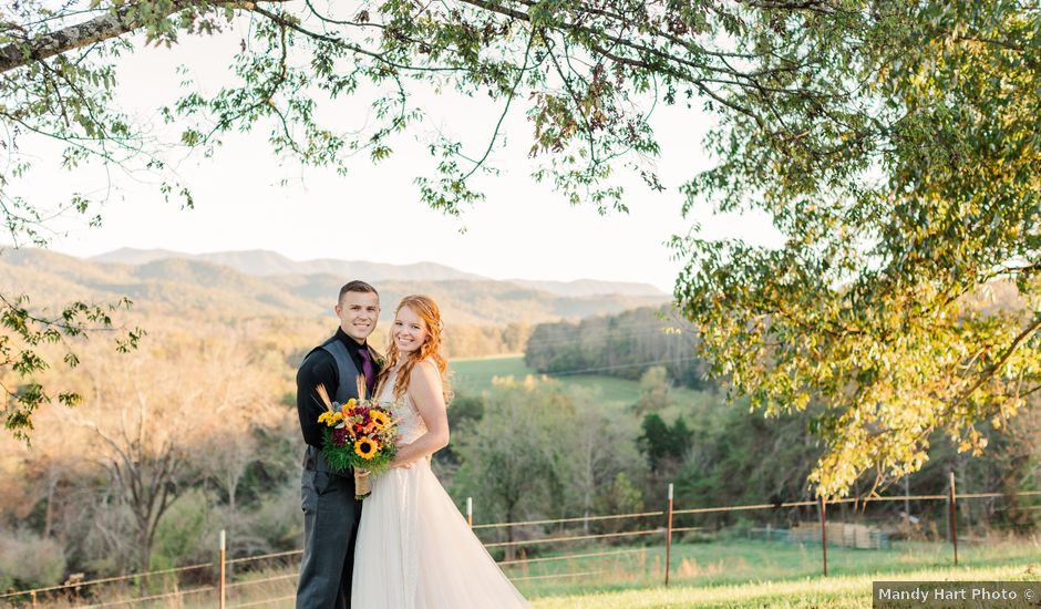 Sean and Skylar's Wedding in Tellico Plains, Tennessee