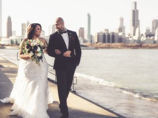 The wedding of Chris and Dene